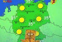 Wetter / Wortschatz zum Thema Wetter