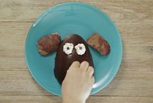 Food art videos by Foivi Geller for Donkey and the Carrot