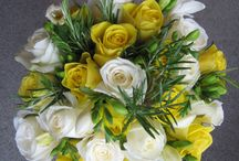 Passionflower weddings - Yellows / A selection of our portfolio containing wedding work in yellows and citrus shades!