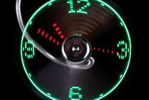 USB LED FAN CLOCK #fan #clock #usb #gadget #hot #summer #clock