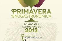 Primavera Enogastronómica de Ruta del Vino Ribera del Guadiana