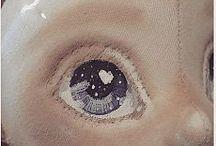 Глаза рисование