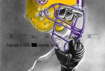 GEAUX TIGERS / by Ghena Vickers