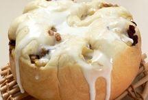 炊飯器で作る大きなアップルシナモンロールパン