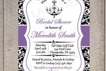 Engagement Party purple / Jess's
