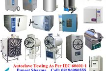 Autoclave Testing As Per IEC/EN 60601-1 / Autoclave Testing As Per IEC/EN 60601-1 If you're Buyers Demanding for Testing– Contact Now! Mr. Puneet Sharma Call: 08196980555 Email: ITCIndiaOne@Gmail.Com