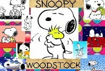 SNOOPY & WOODSTOCK / by B ➽ B's G➽M๏m