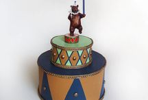 Circus Birthday Cake Toppers / by Painted Fancy