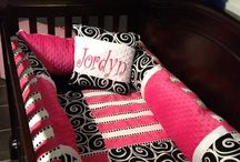 Crib sets & carseat covers