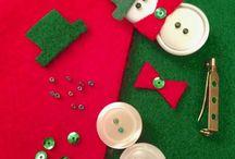 Adonornos faciles de Navidad