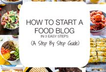 How to food blog