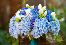 Blues & Purples / Blues & Purples Wedding Flower Inspiration