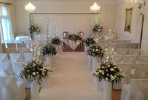 "Wedding Ceremonies Inside Our Ballroom / The perfect place to say ""I do"""