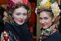 folk and traditional costume