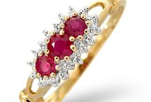 Ruby Jewellery - July Birthsone / Called the King of all Gems, rubies symbolise love and seduce the eye with their fiery red brilliance. Be passionate, bold and elegant with a ravishing red ruby ring from our breathtaking collection…
