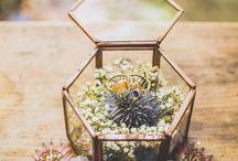 Wedding : porte alliances
