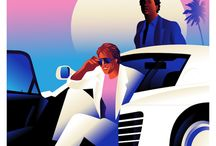 Sunset Drive: Retrowave and Miami Vice