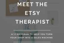 Etsy tutorials / Etsy how to - grow your business