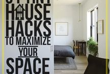 Tiny Home → Space Savers / Not just for those who own a tiny house! This board gives you ideas on how to organize your small space. Find lots of interesting tips and tricks on how to make the most of what little space you have.