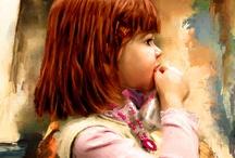 Artistic Portrait  / Impressionist Canvas