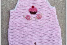 baby crochet / booties