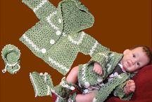 Вязание на кукол крючком / Одежда и аксессуары для кукол сделанные моими руками с помощью обыкновенного крючка.