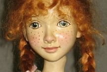 doll made of wood
