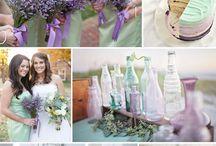 Цвета свадьбы
