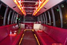Santa Barbara Limo Buses / We can handle groups of any sizes from 10 to 50 passenger. We have flat screen TV, DVD/CD player, iPod connection, karaoke machine, detachable dance pole...