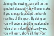 Rowing/Crew / by Tracey Zajac