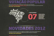 Multishow  / Infográfico Prêmio Multishow