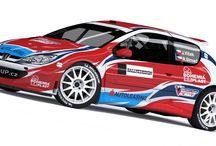 V-Group Sport - J.Vlček – R.Strnad (Peugeot 206 Kit Car) / Wrap design. First seen at Rally Český Krumlov 2012.