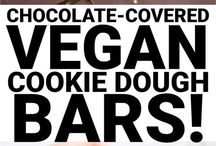VEGAN COOKIE DOUGH RECIPES