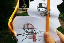 Fun Art / Sebuah karya kreatif hasil ciptaan Manusia yang luar biasa..