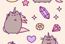 Pusheen cat / Cute