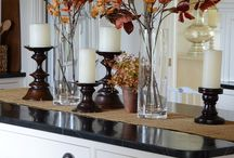 Autumn farmhouse decor