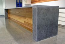 Concrete Benchtops & Furniture