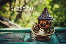 Verde Musgo - Fairy Gardens