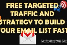 EMAIL LIST BUILDING AND TRAFFIC STRATEGIES / STRATEGIES ON BUILDING YOUR EMAIL LIST FAST AND THE EFFECTIVE WAY TO DRIVE FREE TRAFFIC AND GIVE YOU SO MUCH VALUE TO GROW YOUR OWN BUSINESS ON THIS BOARD...