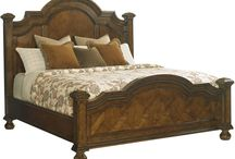Lexington Coventry Hills / http://www.carolinarustica.com/shop-by-brand/furniture/lexington/conventry-hills  Coventry Hills: Crafted in Rustic Cherry with an  emphasis on graceful cathedral patterns in the wood, traditional designs  feature gentle distressing and the warm burnishing of an artisan's  hand. / by Carolina Rustica