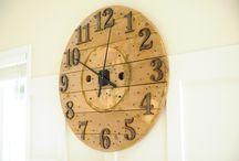 clocks / by Celia Herring