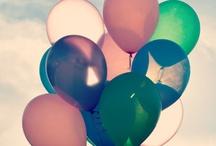 Ballons / Des petits, des gros, en forme de coeur, de toutes les couleurs...