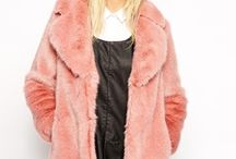 21 Ways To Ditch Your Basic Black Coat Like Miley Cyrus / Faux real. http://www.mtv.com/news/2003887/faux-fur-coats/ / by MTV Style
