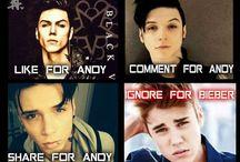 Andy = my hero / Andy Biersack