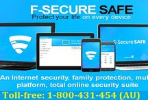 Contact 1-800-431-454 to Install F-Secure Internet Security on Your PC
