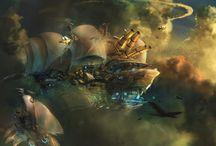 Science fiction, fantasy. / Escape reality.