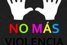 NO-VIOLENCIA / Culturapolis está en contra de la violencia. ¿Tú, de que parte estás?