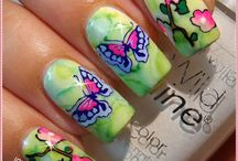 layered art / CICI&SISI LAYERED NAIL ART!  offers you not fixed images, but spaces and possibilities to create ART.