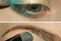 Sombra de ojos dorada
