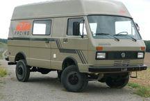 VW LT 4x4 camper / Collection all VW LT 4x4 campervans